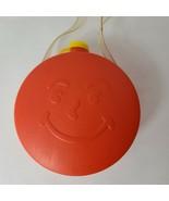 Vintage Kool-Aid Red Plastic Canteen Canister Promotional Rare Kool-Aid Man - $24.26