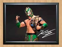 Kalisto Emanuel Rodriguez WWE Signed Autographed A4 Print Poster Photo wwf ufc 1 - $9.95
