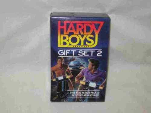 Boxed Gift Set 2 Of Hardy Boys Mystery Paperback Books 32-36 Franklin W. Dixon