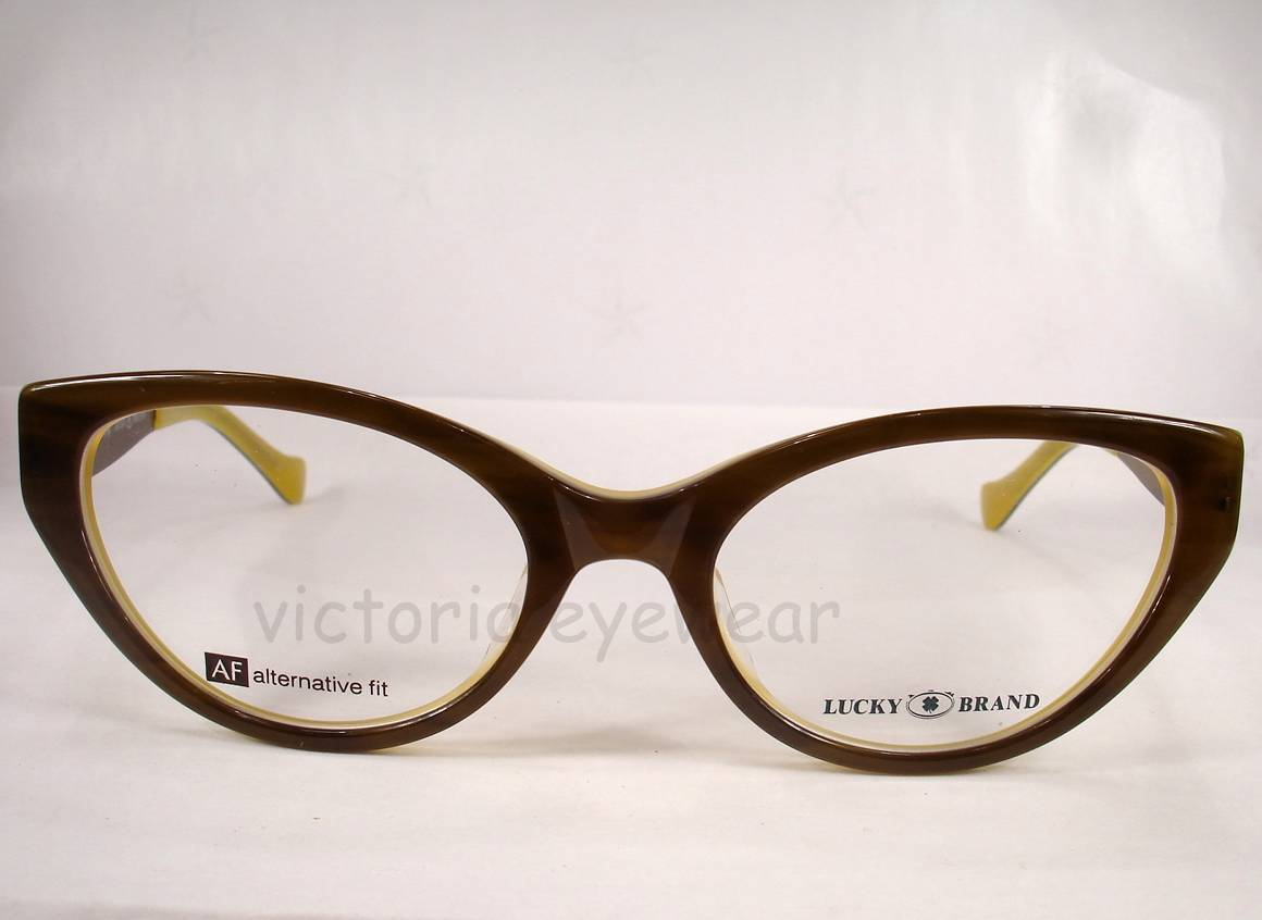 Lucky Brand Eyeglasses Sonora Olive Women new Frames Authentic