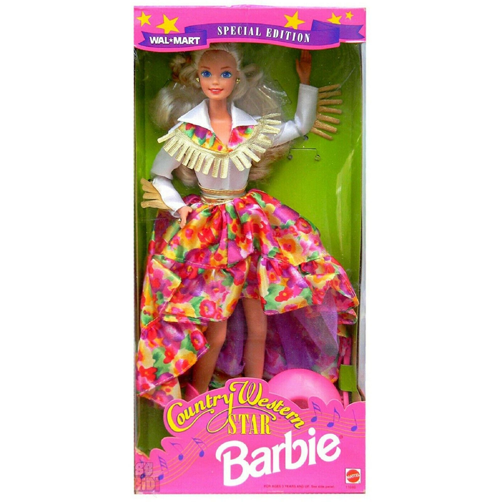 Walmart Special Edition Country Western Star Barbie 1994 - $34.60