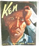 "Ernest Hemingway ""United We Fall Upon Ken"", in ... - $75.00"