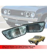 Clear Front Bumper Turn Signal Light Lamp For NIssan / Datsun 620 1972 -... - $40.52