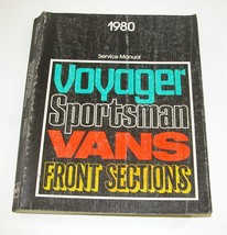 1980 Plymouth Dodge Service Manual Good Used Condition - $7.87