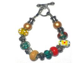 Tropical Paradise Charm Bracelet - £15.92 GBP