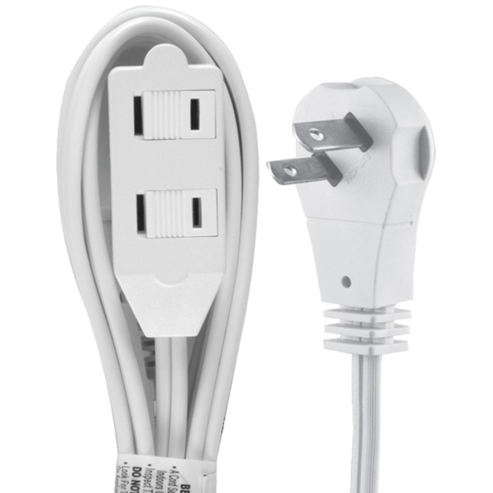 Primary image for GE 50360 2-Outlet Wall Hugger Extension Cord, 6ft