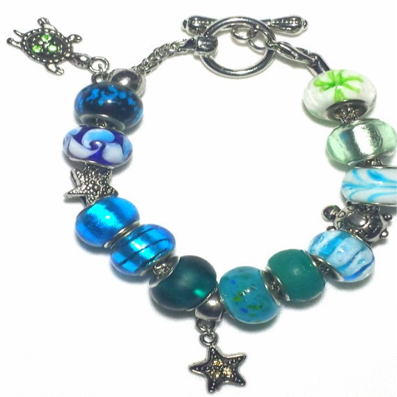 Night at the Sea Charm Bracelet