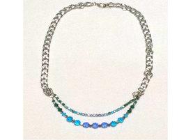Beaded Multi-Strand Necklace - $10.00