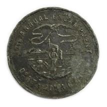 1891 Dubuque 17th Annual Encampment Dept of Iowa G.A.R. Silver Medal - $39.00