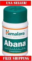 Himalaya Abana 60cap,The multifaceted cardioprotective,retail value $14.99 - $7.19