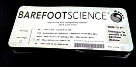 Barefoot Science Foot Full 5 Step Insole Arch Support Mens L 10 to 11.5 ... - $58.36