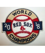 """Boston Red Sox~2018 World Series Champions~Embroidered PATCH~3 1/2""""~Iron... - $4.95"""