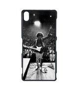 Jimi Hendrix Sony Z case Customized Premium plastic phone case, design #3 - $12.86