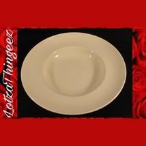 "Homer Laughlin 12"" WIde Rim Pasta / Soup Serving Bowl - $23.50"