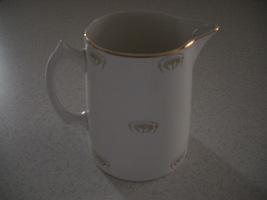Tea Pot no Lid, Vitreous China, by Edwin M Knowle - $19.99