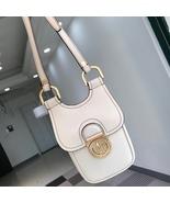 TORY BURCH James Phone Crossbody Bag Womens Leather Mini Shoulder Bag White - $185.00