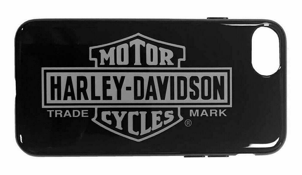 Harley-Davidson Venture Vertical B&S Logo iPhone 7 / 8 Phone Case - Black 9508