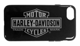 Harley-Davidson Venture Vertical B&S Logo iPhone 7 / 8 Phone Case - Black 9508 image 1