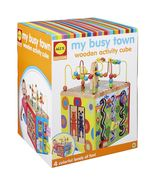 ALEX Discover My Busy Town Wooden Activity Cube New Toy - $78.99