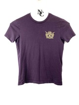 Unisex Armani Exchange GOLD LOGO T-SHIRT Premium color PRUNE RL18 - $22.76
