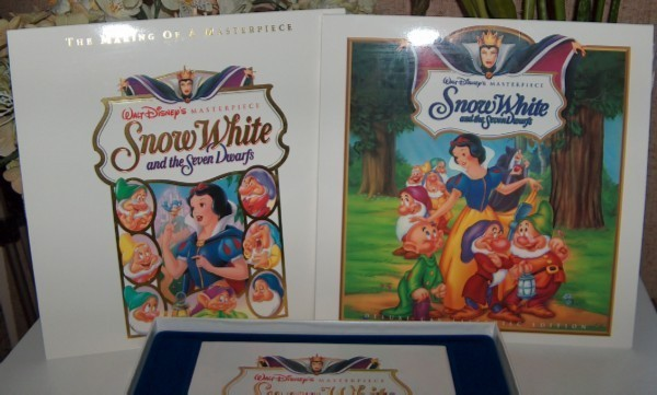 Disney's Masterpiece Snow White and Seven Dwarfs Laserdisk Collection