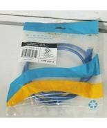 5 - 3' , Cat6, Ethernet Patch Cables, Blue.   - $9.79