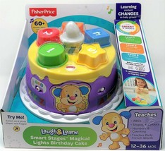 Fisher-Price Musical Lights Birthday Cake Laugh and Learn Smart Stages Toy - $27.71