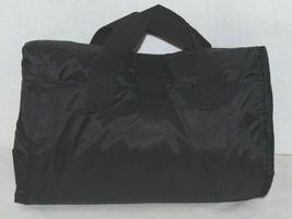 Unbranded Stadium Picnic Fleece Nylon Waterproof Blanket Royal Blue Black image 3