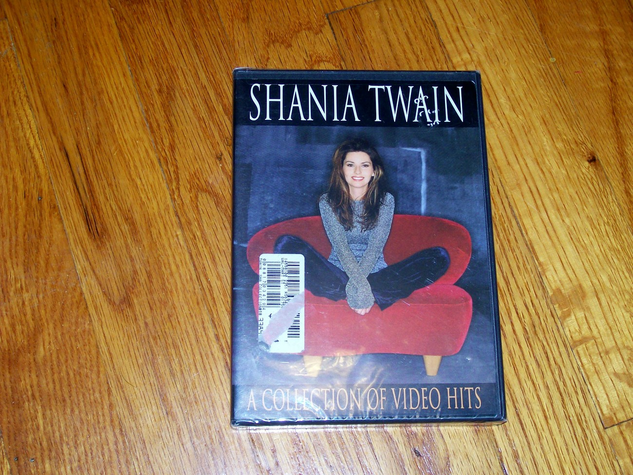 Shania Twain Video Hits dvd sealed
