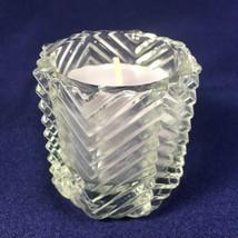 Vintage 1981 Avon Ultra Shimmer Odyssey Lavender Color Perfumed Candle- ... - $12.16