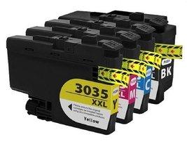 Brother LC3035XXL Compatible Combo Pack BK/C/M/Y Premium Ink - 4 Cartridges - $140.40