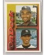 Mariano Rivera (New York Yankees) / Lyle Mouton (Chicago White Sox) 1995... - $10.49
