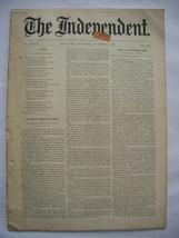The Independent Vol XLVIII October 8, 1896 No. 2497 - $25.00