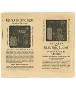 Ohio Electric Co early brochure 1890's Cleveland Ohio Edison ephemera vi... - $22.00