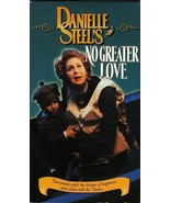 NO GREATER LOVE DANIELLE STEEL'S  VHS RARE - $4.95