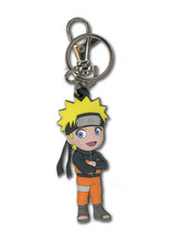 Naruto Shippuden Chibi Naruto PVC Key Chain GE4702 *NEW* - $11.99