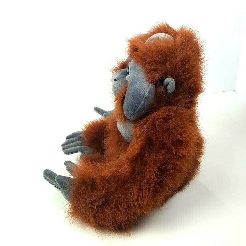 "KM International Wild Republic Plush Orangutan Monkey Ape Stuffed Animal 19"" image 2"