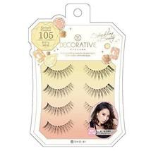 Decorative Eyelash Decorative Eyelash Kitty Wink SE85631 4 pairs - $12.61