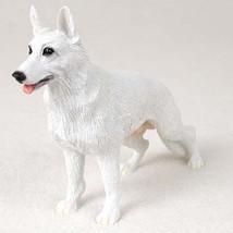 GERMAN SHEPHERD DOG Figurine Statue Hand Painted Resin Gift Pet Lovers W... - $17.25