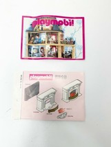 Vintage Playmobil Victorian Mansion InstructionS  5310 Den Fireplace BOO... - $2.70