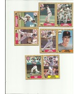 1987 Topps box Outserts Card Set ( A Thru H, 4 Card, 8 player complete Set) - $19.99