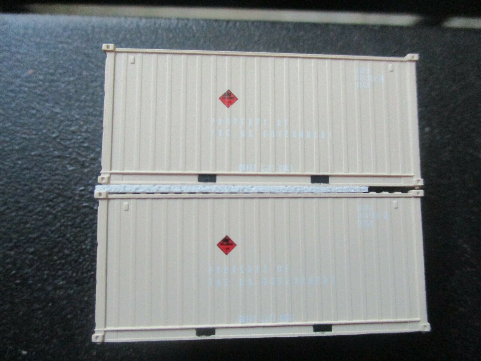 Jacksonville Terminal Company # 205453 USFU 20' Container Military Series (N)