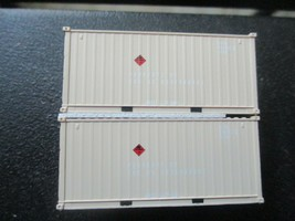 Jacksonville Terminal Company # 205453 USFU 20' Container Military Series (N) image 1