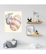 Easter Gift Idea, Egg with bear Doodle Coloring Page For Spring, Easter ... - $1.10