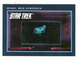 Star Trek card #239 Bridge Main Viewscreen - $3.00