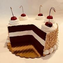 Large  Fake Cake Red Velvet Cream w/ Nuts  Faux Cake Prop Decoration - $49.59