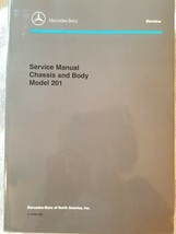 Mercedes-Benz Service Manual Chassis & Body Model 201 OEM (1988) - $96.70