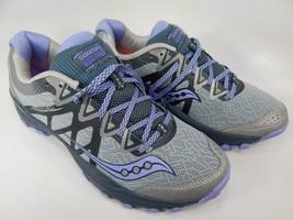 Saucony Caliber TR Size 8 M (B) EU 39 Women's Running Shoes Gray/Purple ... - $51.80