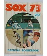 Chicago White Sox vs Minnesota Twins 1973 Official Scorebook Comiskey Park - $13.84