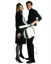 Rasta Imposta Plug and Socket Couples Costume Packaged Together Black/White One - $38.56